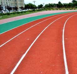龙口市第一中学硅PU球场工程