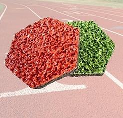 透气型塑胶跑道样块—塑胶跑道材料