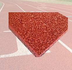 自结纹型塑胶跑道材料