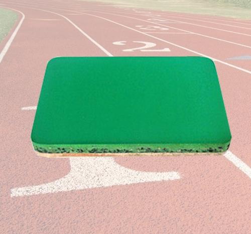 混合型球场样块—塑胶跑道材料