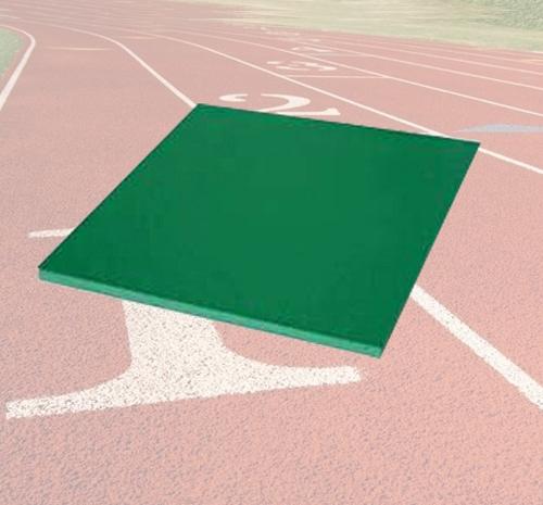 全塑型球场样块—塑胶跑道材料