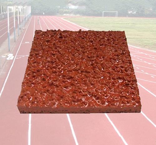 混合型跑道样块—塑胶跑道材料